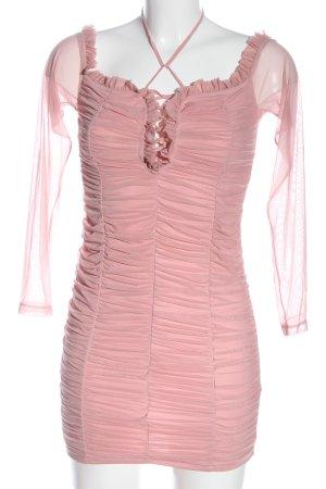 Fashion Nova Minikleid pink Elegant