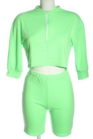 Fashion Nova Ensemble tissé vert style décontracté
