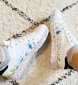 fashion skateboard sneaker Turnschuh rainbow splash pride Regenbogen