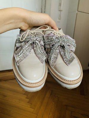 Fashion Sneaker mit abnehmbaren Schleifen