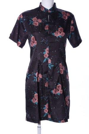 Fashion Union Blusenkleid Blumenmuster Elegant