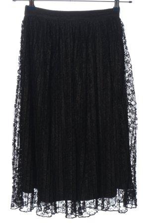 Fashion Union Flared Skirt black casual look