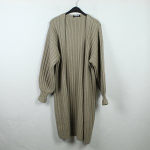 Fashion Union Strickmantel Gr. 36 beige (19/12/154)