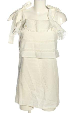Fashion Union Trägerkleid wollweiß Casual-Look