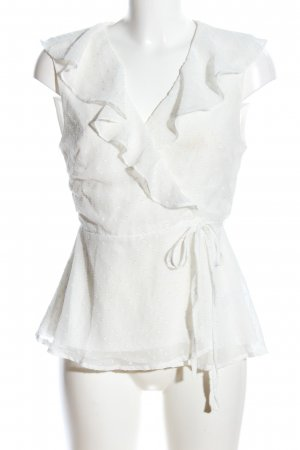 Fashion Union Wickel-Bluse creme Elegant