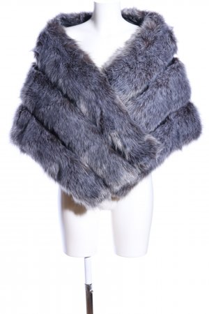 Chal gris claro-azul elegante