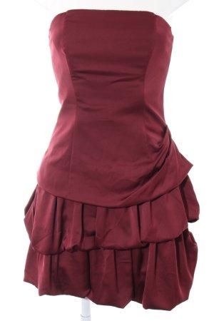 Fashionart Vestido bustier rojo elegante