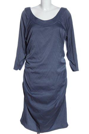 Fashionart Langarmkleid blau Elegant