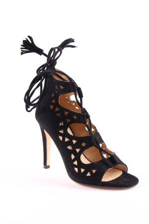Fashionchick High Heel Sandaletten schwarz Party-Look