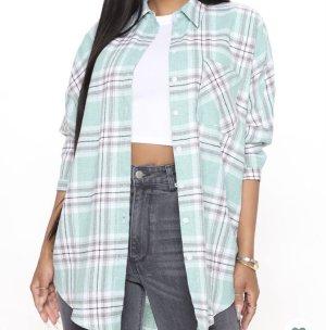 Fashionnova Flanellen hemd veelkleurig