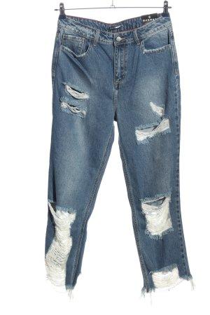 Fashionnova High Waist Jeans blau Casual-Look