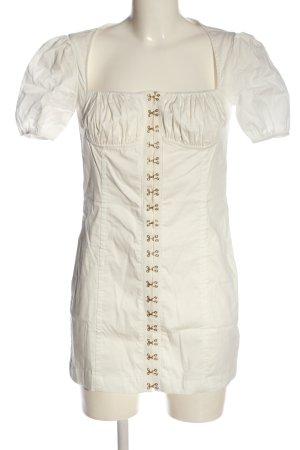 Fashionnova Minikleid wollweiß Casual-Look