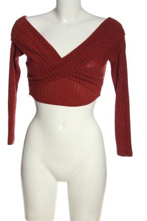 Fashionova V-Ausschnitt-Pullover