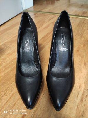 5 th Avenue High Heels black leather