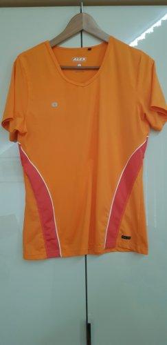 Alex Athletics Sportshirt oranje-zalm