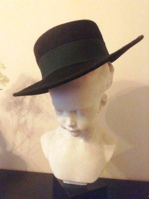Faustmann Gorro folclórico negro-verde oscuro