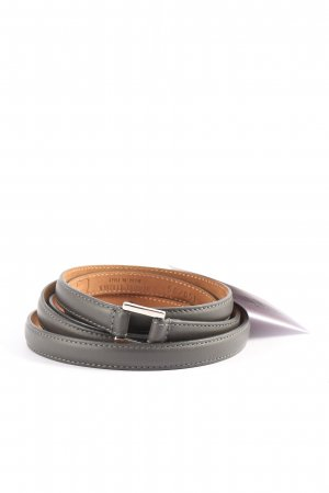 Fausto colato Leather Belt black casual look