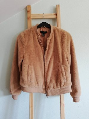 Forever 21 Chaqueta bomber nude-beige