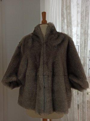 Orsay Veste en fourrure gris clair-gris