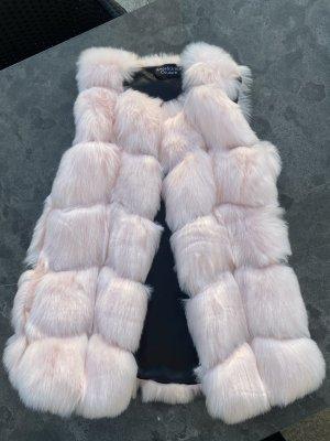 Amor&Grace Fake Fur Vest light pink
