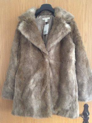 Faux Fur Jacke H&M Conscious Collection