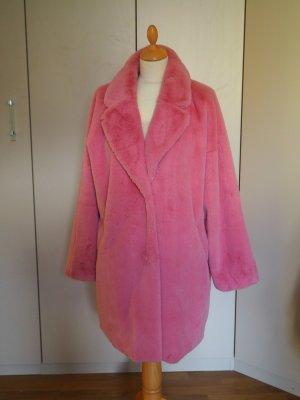 Fake Fur Coat pink