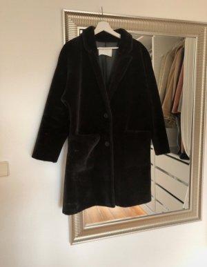 Faux Fur Mantel von Zara