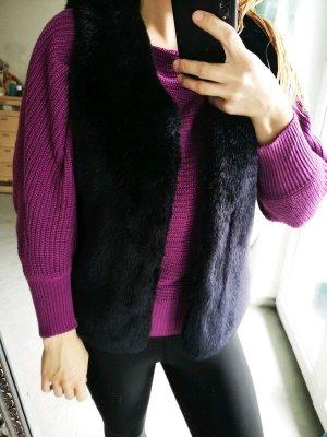 Pimkie Fur vest black