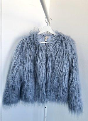 FauxFur Blau
