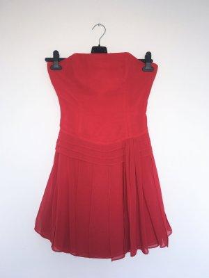 Vestido bandeau rojo
