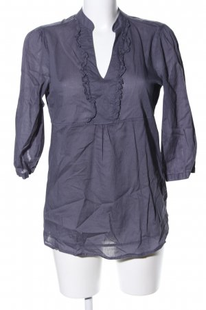 Favourite Basics Tunikabluse blau Streifenmuster Business-Look