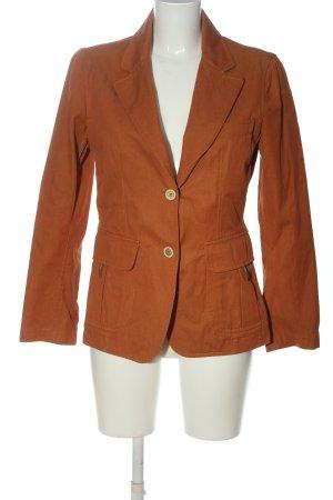 FAY Blazer lungo arancione chiaro stile casual