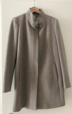 FAY Krótki płaszcz Wielokolorowy Wełna z alpaki
