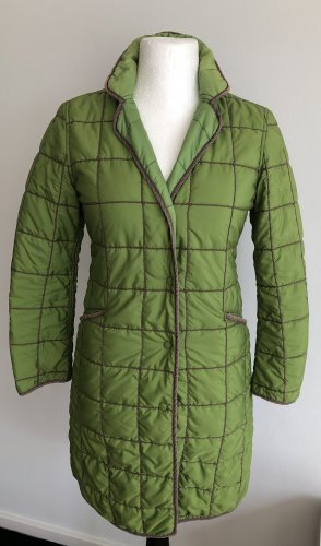FAY Quilted Coat green