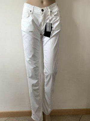 FAY Pantalone a sigaretta bianco