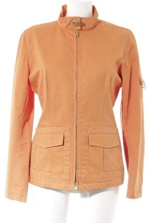 FAY Übergangsjacke orange Casual-Look