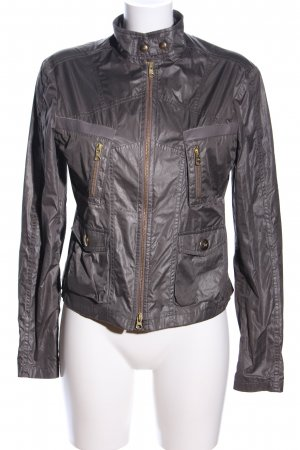 FAY Chaqueta encerada color bronce look casual