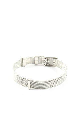 FAYE Bracelet de bras argenté style d'affaires
