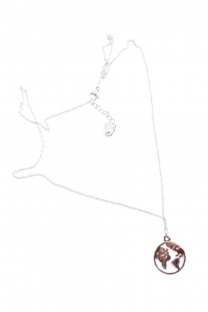 FAYE Collier Necklace silver-colored casual look
