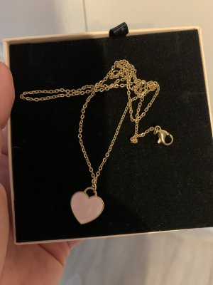 FAYE Gold Chain gold-colored-pink