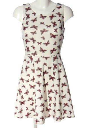 FB Sister A-Linien Kleid Allover-Druck Casual-Look