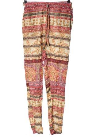 FB Sister Luźne spodnie Na całej powierzchni W stylu casual
