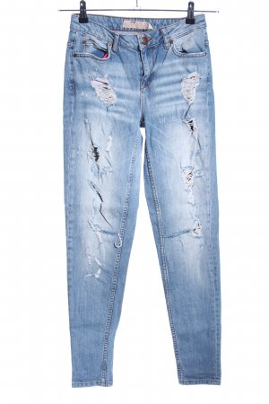FB Sister Boyfriend jeans blauw casual uitstraling