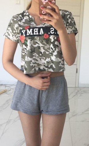 FB sister camouflage T-shirt shirt