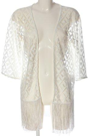FB Sister Kardigan w kolorze białej wełny Na całej powierzchni W stylu casual