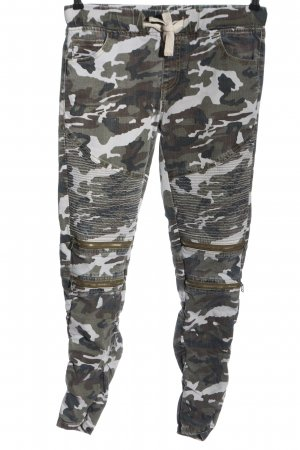 FB Sister Cargohose Camouflagemuster Casual-Look