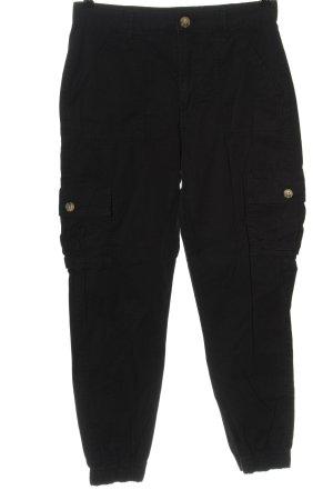 FB Sister Pantalon cargo noir style décontracté