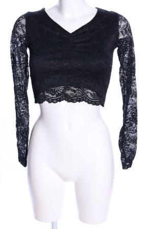 FB Sister T-shirt court noir élégant