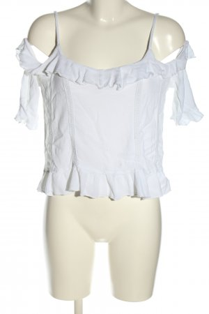 FB Sister Cropped top wit casual uitstraling
