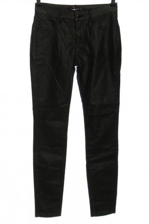 FB Sister Pantalon cinq poches noir style décontracté